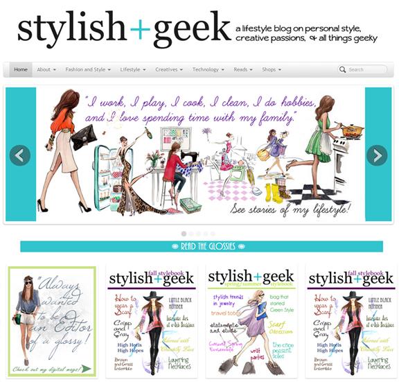 Stylish+Geek Blog